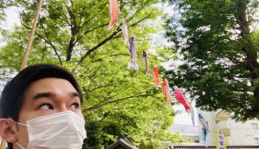 【まちかど探検隊】4/28(水)鯉のぼり🎏